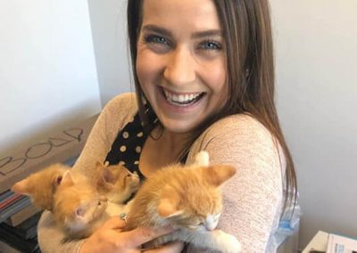 Erin is a self-proclaimed cat lady